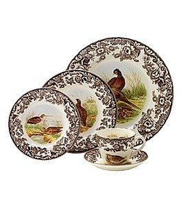 Image of Spode Festive Fall Collection Woodland 5-Piece Place Setting