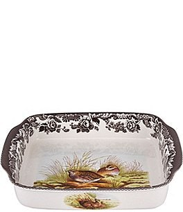 Image of Spode Festive Fall Collection Woodland Handled Baking Dish