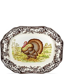 Image of Spode Woodland Turkey Platter