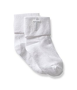 Image of Starting Out 2-Pack Christening Socks