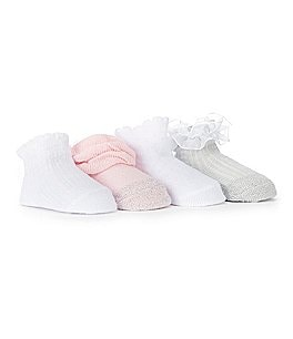 Image of Starting Out 4-Pack Ruffle Socks