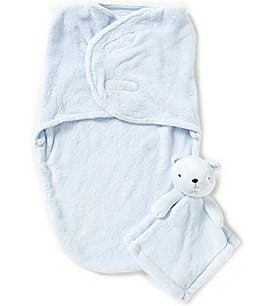 Image of Starting Out Baby Fleece Swaddle & Blanket Buddy