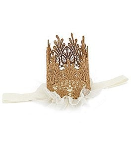 Image of Starting Out Baby Girls Crown Headband