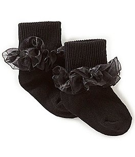 Image of Starting Out Baby Girls Lace Socks