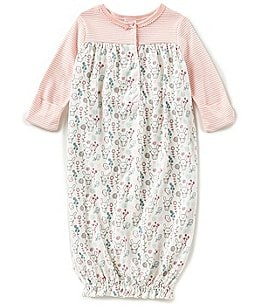 Image of Starting Out Baby Girls Newborn-6 Months Bunny Gown