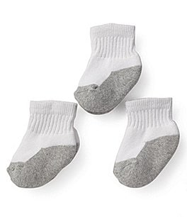 Image of Starting Out Infant Quarter Socks 3-Pack