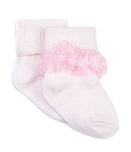 Image of Starting Out Infant Tutu-Trim Anklet Socks 2-Pack