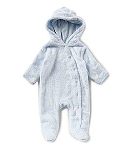Image of Starting Out Newborn-6 Months Faux-Fur Footed Coverall