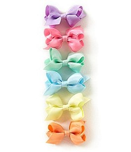 Image of Starting Out Organza 6-Piece Mini Bow Set