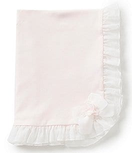 Image of Starting Out Treasures Chiffon Bow Detailed Blanket