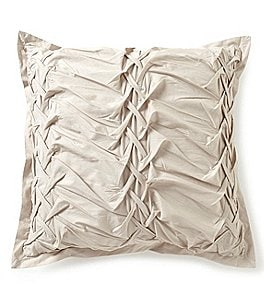 Image of Studio D Allegro Ruched Percale Square Pillow