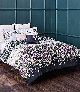 Image of Ted Baker London Entangled Enchantment Collection Floral Sateen Comforter Mini Set