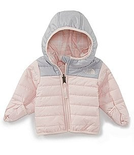 Image of The North Face Baby Girls 3-24 Months Long-Sleeve Reversible Perrito Jacket