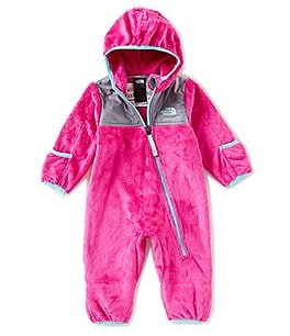 Image of The North Face Baby Girls 3-24 Months One-Piece Fleece Coverall