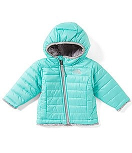 Image of The North Face Baby Girls 3-24 Months Reversible Mossbud Swirl Hoodie Jacket