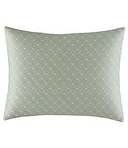 Image of Tommy Bahama Abacos Embroidered Diamond Pillow