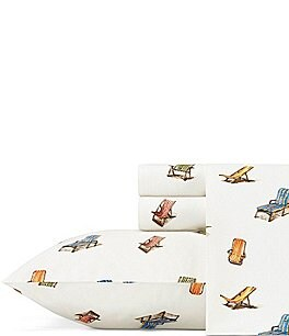 Image of Tommy Bahama Beach Chairs Sheet Set