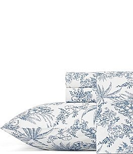 Image of Tommy Bahama Pen And Ink Palm Sheet Set
