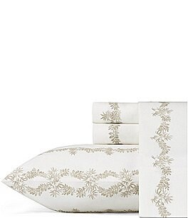 Image of Tommy Bahama Pineapple Garland Sheet Set