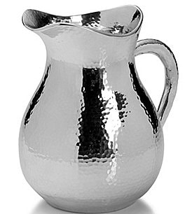 Image of Towle Silversmiths Hammered Pitcher