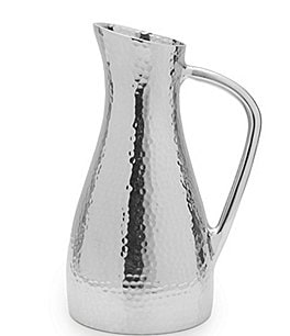 Image of Towle Silversmiths Hammered Water Pitcher
