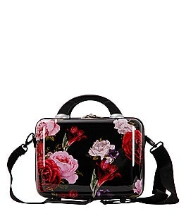 Image of Triforce Versailles Collection Floral Travel Beauty Case