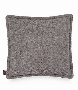 Image of UGG® Ana Sweater-Knit & Sherpa Reversible Square Feather Pillow
