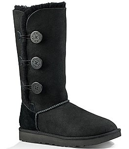 Image of UGG® Bailey Suede Button Triplet II Boots