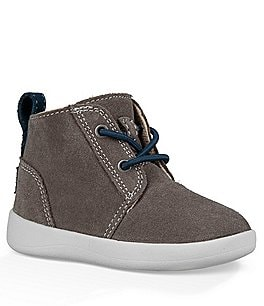 Image of UGG® Boys' Kristjan Suede Sneakers