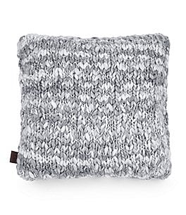 Image of UGG® Cloud Handmade Knit Square Feather Pillow