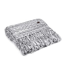 Image of UGG® Cloud Heather Fringed Throw