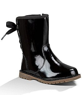 Image of UGG® Girls' Corene Patent Leather Boots