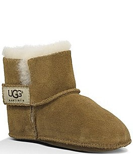 Image of UGG® Erin Infant Girls' Suede Crib Shoes