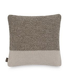 Image of UGG® Haven Colorblocked Knit Square Feather Pillow