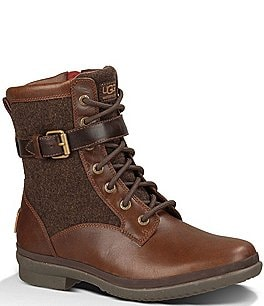 Image of UGG® Women's Kesey Waterproof Leather and Textile Boots