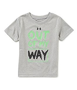 Image of Under Armour Baby Boys 12-24 Months Out Of My Way Short-Sleeve Tee