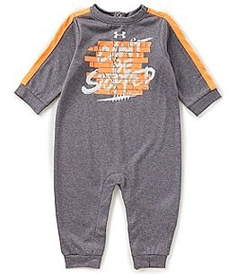 Image of Under Armour Baby Boys Newborn-12 Months Cant Be Stopped Long-Sleeve Coverall