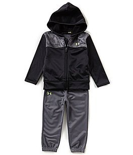 Image of Under Armour Baby Boys Newborn-12 Months Digital City Track Jacket & Pants Set