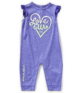 Image of Under Armour Baby Girls Newborn-12 Months Love To Win Coverall