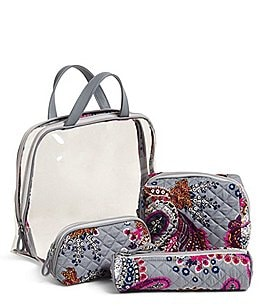 Image of Vera Bradley Iconic 4-Piece Cosmetic Set