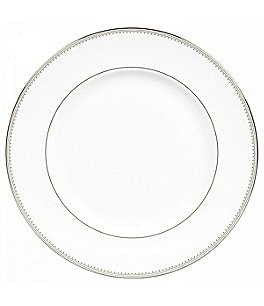 Image of Vera Wang by Wedgwood Grosgrain Platinum Bone China Bread & Butter Plate