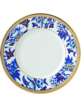 Image of Wedgwood Hisbiscus Bone China Bread & Butter Plate