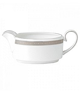 Image of Vera Wang by Wedgwood Lace Gravy Boat