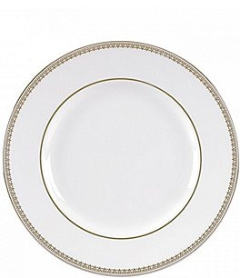 Image of Vera Wang by Wedgwood Vera Lace Gold China Bread and Butter Plate