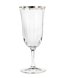 Image of Vera Wang Classic Platinum Iced Beverage Glass