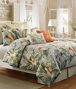 Image of Veratex Key Largo Palm Frond Comforter Set