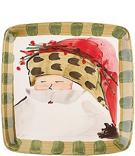 Image of Vietri Old St. Nick Square Salad Plate