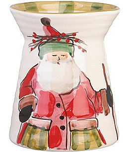 Image of Vietri Old St. Nick Utensil Holder