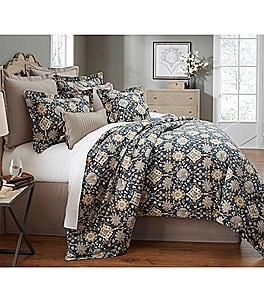 Image of Villa by Noble Excellence Camille Floral Sateen Comforter Mini Set