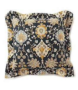 Image of Villa by Noble Excellence Camille Floral Sateen Square Pillow